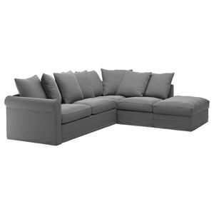 GrÖnlid Corner Sleeper Sofa 4 Seat With Open End Kimstad