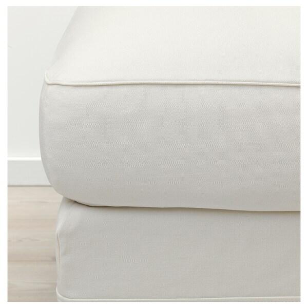 """GRÖNLID ottoman with storage Inseros white 38 5/8 """" 28 3/4 """" 19 1/4 """" 2 3/4 """" 28 gallon"""