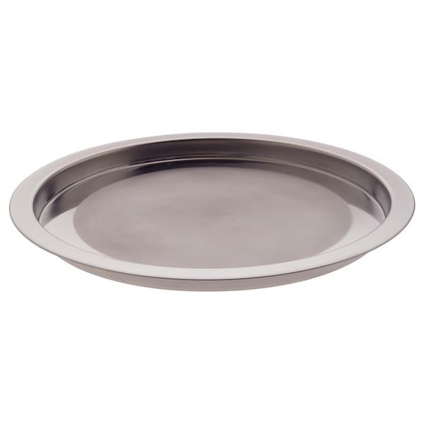 """GROGGY Tray, stainless steel, 15 """""""