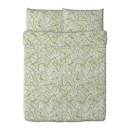 GRÖNKULLA Duvet cover and pillowcase(s) IKEA