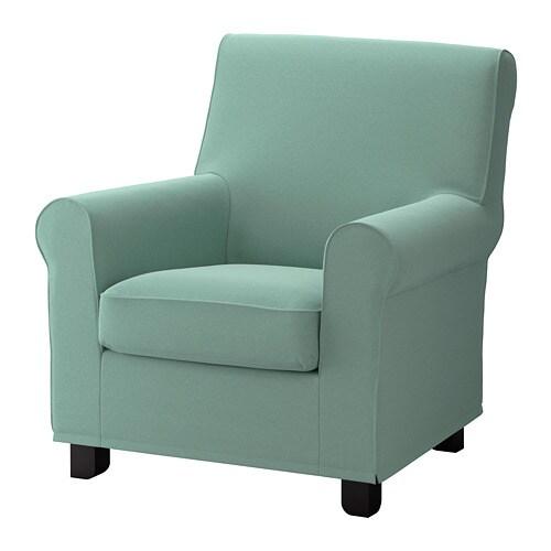 Gronlid Armchair Ljungen Light Green Ikea