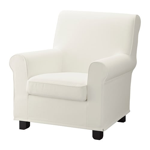 Gronlid Armchair Inseros White Ikea