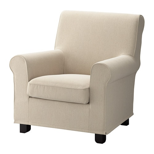Gronlid Cover For Armchair Sporda Natural Ikea