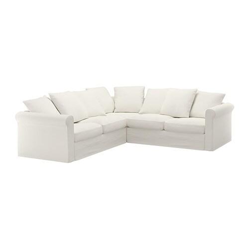 GRÖNLID Sectional, 4-seat corner - Inseros white - IKEA