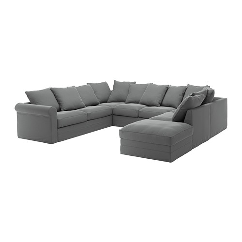 gr nlid sectional 6 seat with open end ljungen medium. Black Bedroom Furniture Sets. Home Design Ideas