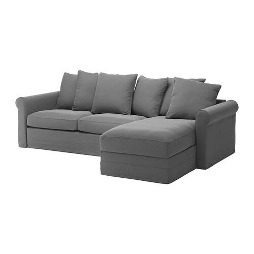 Grönlid Sleeper Sofa With Chaiseljungen Medium Gray Ikea