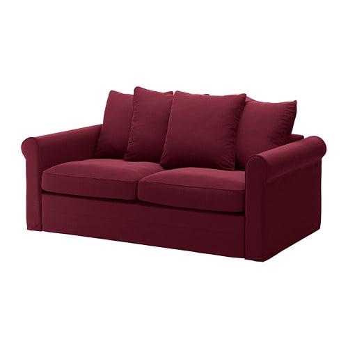 gr u00d6nlid sleeper sofa - ljungen dark red