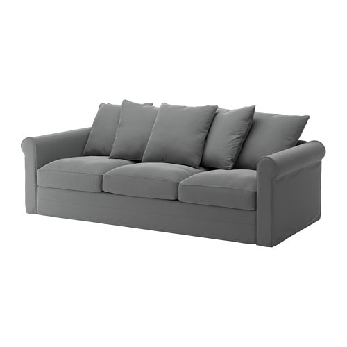 gr nlid sofa ljungen medium gray ikea. Black Bedroom Furniture Sets. Home Design Ideas
