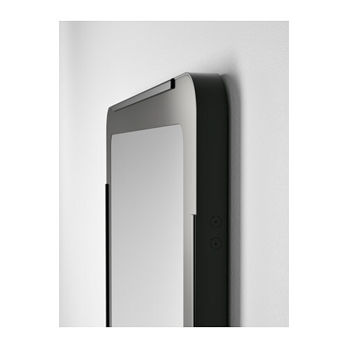 GRUA Mirror IKEA The mirror can be hung vertically or horizontally to suit your needs and space.
