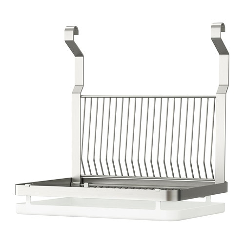 Grundtal dish drainer ikea for Kitchen drying rack ikea