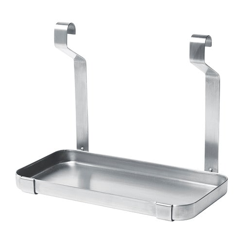 GRUNDTAL Shelf, stainless steel