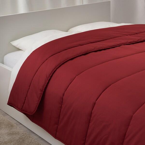 GRUSBLAD Comforter, warmer, wine, Full/Queen