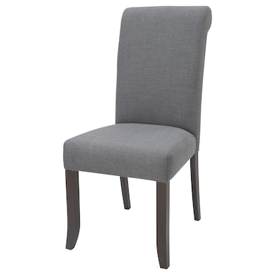 "GRUVBYN chair brown/Nordvalla dark gray 243 lb 20 1/8 "" 23 1/4 "" 42 1/8 "" 19 5/8 "" 18 7/8 "" 20 1/8 """