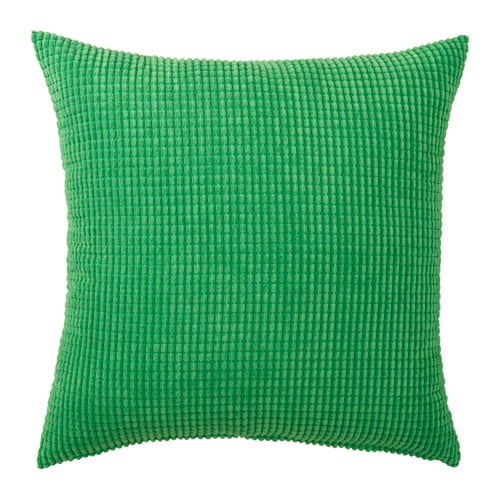 GULLKLOCKA Cushion cover IKEA Chenille fabric feels ultra soft against your skin. The zipper makes the cover easy to remove.