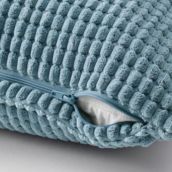 "GULLKLOCKA Cushion cover, light blue, 20x20 """