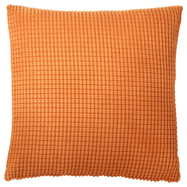"GULLKLOCKA Cushion cover, orange, 20x20 """