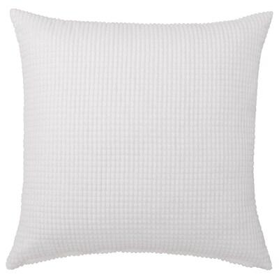"""GULLKLOCKA Cushion cover, white, 26x26 """""""