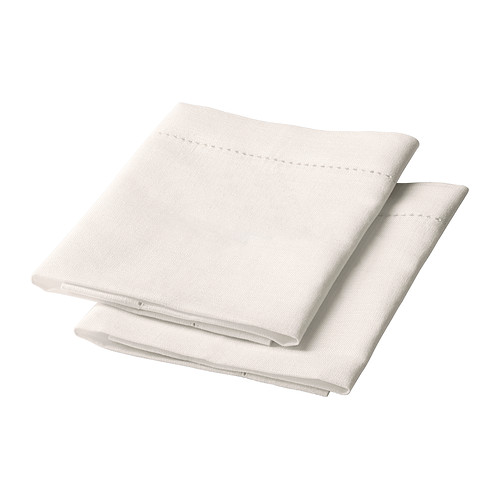 GULLMAJ Napkin IKEA Cotton/linen blend with the softness of cotton and the matte luster and firmness of linen.