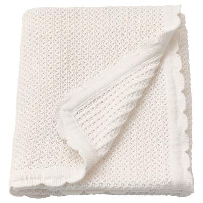 """GULSPARV Baby blanket, white, 28x35 """""""