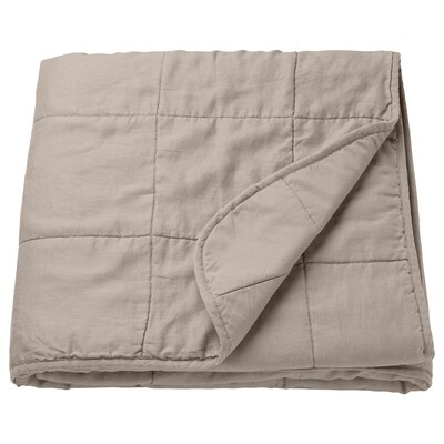 GULVED Bedspread, natural, Twin/Full (Double)