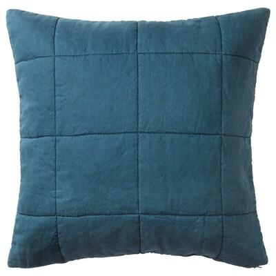 """GULVED cushion cover dark blue 26 """" 26 """" 1 oz 5 oz"""