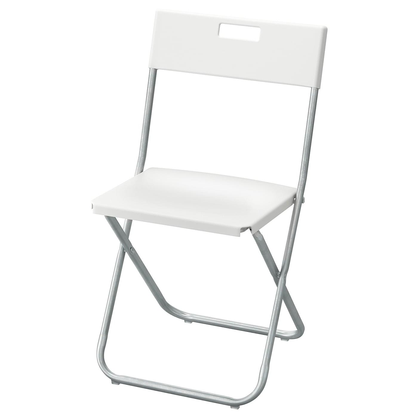 Gunde Folding Chair White Ikea