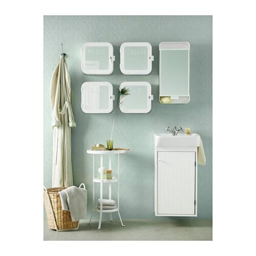 white lockable medicine cabinet 2