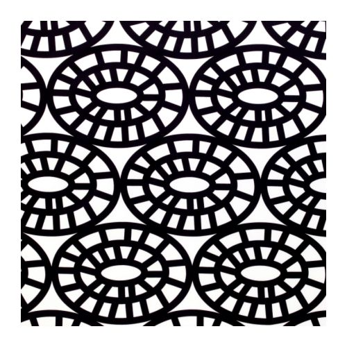 "GUNVOR Fabric, white/black Width: 59 ""  Width: 150 cm"