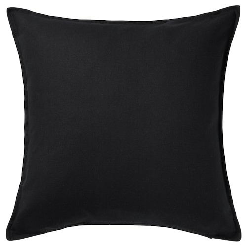 "GURLI cushion cover black 26 "" 26 """