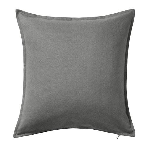 GURLI Cushion cover, gray