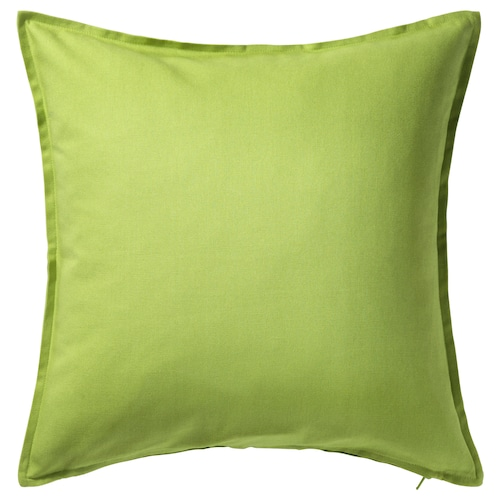 "GURLI cushion cover green 20 "" 20 """