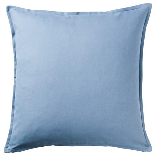 "GURLI cushion cover light blue 20 "" 20 """