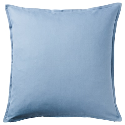 "GURLI cushion cover light blue 20 "" 20 """