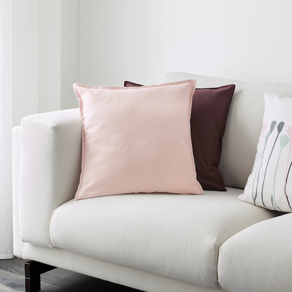 Gurli Cushion Cover Light Pink 20x20