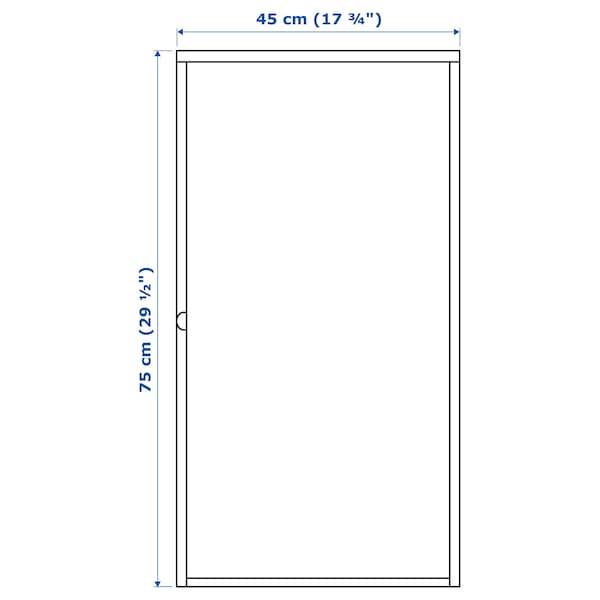 "HÄLLAN Cabinet, white, 17 3/4x29 1/2 """