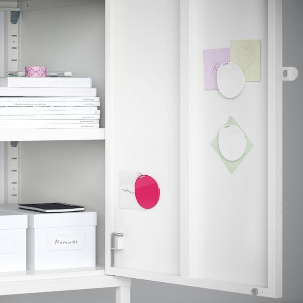 "HÄLLAN Storage combination with doors, white, 17 3/4x18 1/2x36 1/4 """