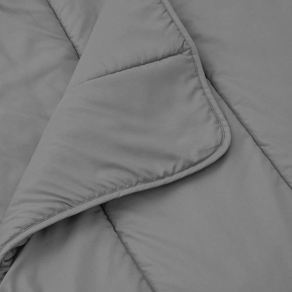 HÄLLESPRING Comforter set, gray cooler, Full/Queen