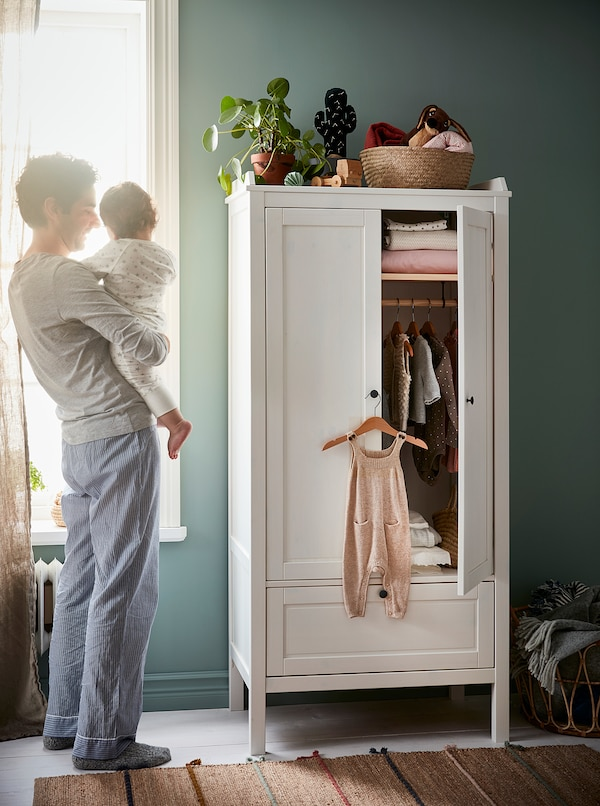 HÄNGA Children's coat-hanger, natural