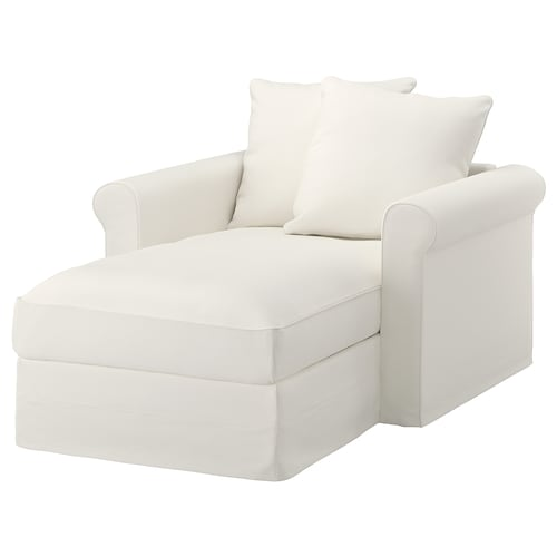 "HÄRLANDA chaise Inseros white 41 "" 46 7/8 "" 64 5/8 "" 2 3/8 "" 7 1/2 "" 28 "" 31 7/8 "" 49 5/8 "" 19 1/4 "" 28 """