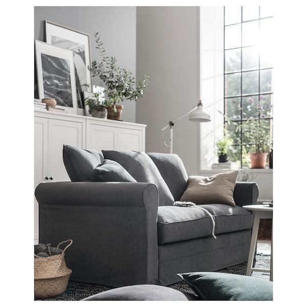 HÄRLANDA Loveseat, Ljungen medium gray