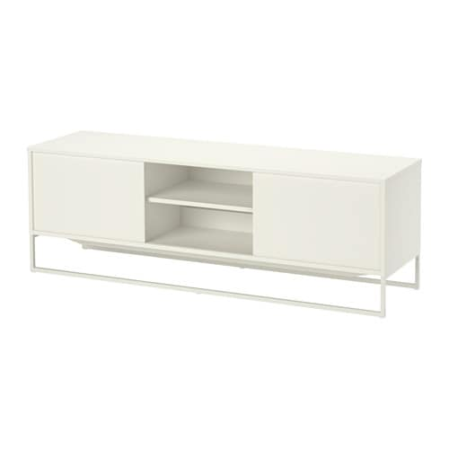 Hagge tv unit white ikea - Meuble tele blanc ikea ...