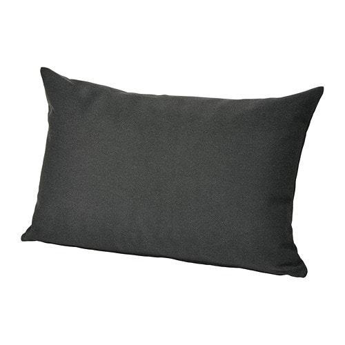Incredible Hallo Back Cushion Outdoor Black Interior Design Ideas Tzicisoteloinfo