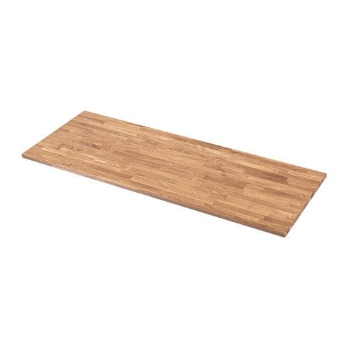 HAMMARP Countertop, oak oak 74x1 1/8