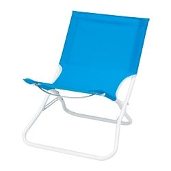 HÅMÖ beach chair, blue