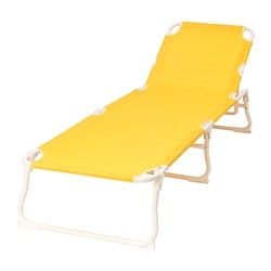 HÅMÖ chaise, yellow