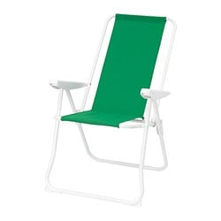 HÅMÖ reclining chair, green