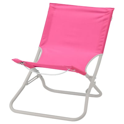 """HÅMÖ beach chair pink 21 1/4 """" 25 5/8 """" 24 3/4 """" 15 3/4 """" 15 """" 14 5/8 """" 220 lb 7 lb"""