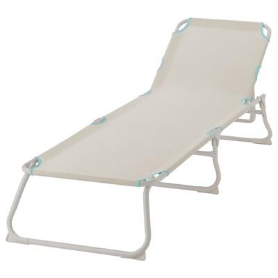 """HÅMÖ chaise light beige 74 3/4 """" 23 1/4 """" 11 """" 220 lb 14 lb"""