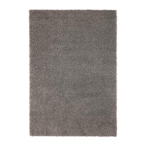 HAMPEN Rug, high pile, gray gray 4 ' 4