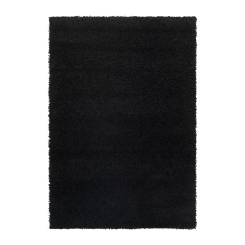 HAMPEN Rug, high pile IKEA The polypropylene fibers have been heat treated to give the rug a firm and resilient pile.